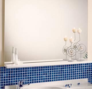 mensola in marmoresina Marlux per lavabo