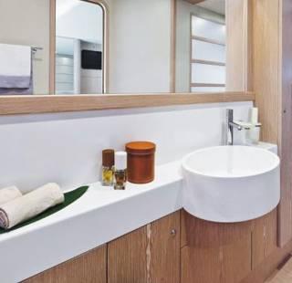 Top lavabi Marlux realizzati su misura, su progetto del cliente