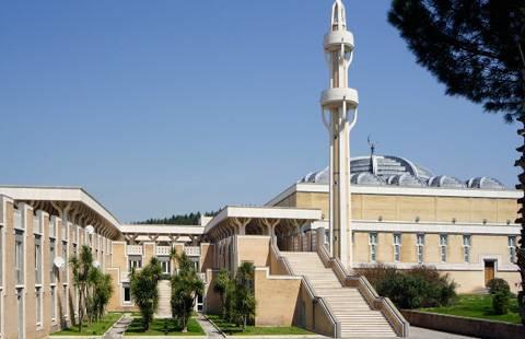 Marmoresina per Moschea di Roma dell'arch. Paolo Portoghesi